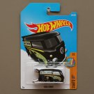 Hot Wheels 2017 Surf's Up Volkswagen Kool Kombi (black)