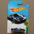 Hot Wheels 2017 HW Exotics '17 Pagani Huayra Roadster (blue)