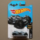 Hot Wheels 2017 Batman Arkham Knight Batmobile (pearlescent blue)