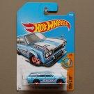 Hot Wheels 2017 Surf's Up '71 Datsun Bluebird 510 Wagon (blue)