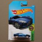 Hot Wheels 2017 HW Exotics Aston Martin ONE-77 (blue)