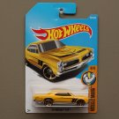 Hot Wheels 2017 Muscle Mania '67 Pontiac GTO (yellow)