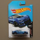 Hot Wheels 2017 Camaro Fifty '17 Camaro ZL1 (blue)