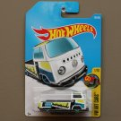 Hot Wheels 2017 HW Art Cars Volkswagen T2 Pickup (white) (SEE CONDITION)