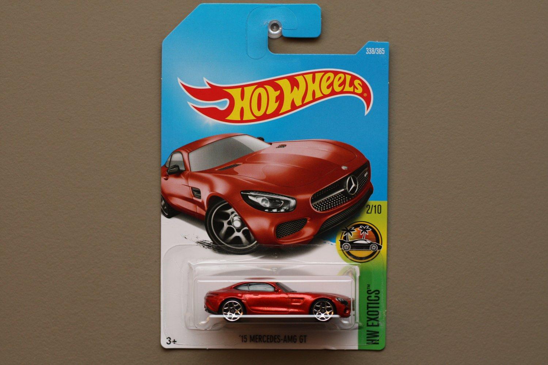 Hot Wheels 2017 Hw Exotics 15 Mercedes Benz Amg Gt Dark Orange Hotwheels 82 Nissan Skyline R30 Silver See Condition