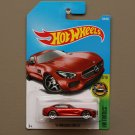 Hot Wheels 2017 HW Exotics '15 Mercedes Benz AMG GT (dark orange) (SEE CONDITION)