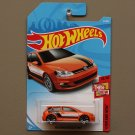 Hot Wheels 2018 Then And Now Volkswagen Golf MK7 (orange)