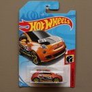 Hot Wheels 2018 HW Daredevils Fiat 500 (orange)
