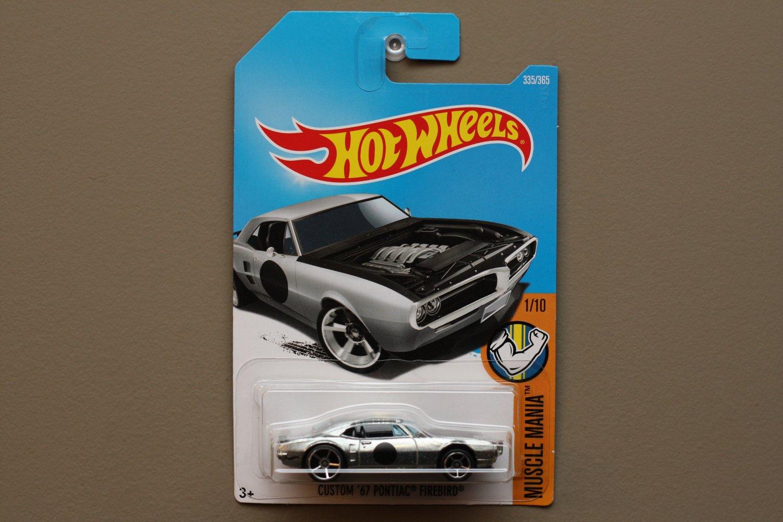 Hot Wheels 2017 Muscle Mania Custom '69 Pontiac Firebird (ZAMAC silver) (SEE CONDITION)