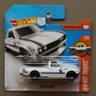 Hot Wheels 2017 HW Hot Trucks Datsun 620 (white) (SEE CONDITION)