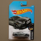 Hot Wheels 2017 Nightburnerz '17 Nissan GT-R [R35] (grey)