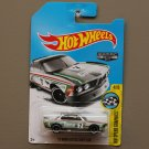 Hot Wheels 2017 HW Speed Graphics '73 BMW 3.0 CSL Race Car (ZAMAC silver - Walmart Excl.)