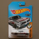 Hot Wheels 2017 Muscle Mania '67 Pontiac GTO (ZAMAC silver - Walmart Excl.) (SEE CONDITION)