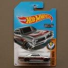 Hot Wheels 2017 Muscle Mania '67 Pontiac GTO (ZAMAC silver - Walmart Excl.)
