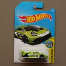 [WHEEL ERROR] Hot Wheels 2017 HW Speed Graphics Lamborghini Huracan LP 620-2 Super Trofeo (green)