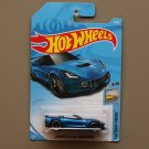 Hot Wheels 2018 Factory Fresh Corvette C7 Z06 Convertible (blue)