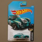 Hot Wheels 2017 Nightburnerz Porsche 356A Outlaw (teal)