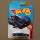 Hot Wheels 2017 Then And Now '95 Mazda RX-7 (blue)
