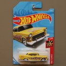 Hot Wheels 2018 HW Flames '55 Chevy (yellow)