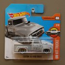Hot Wheels 2017 HW Hot Trucks Custom '56 Ford Truck (grey)