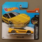 Hot Wheels 2017 Nightburnerz '90 Acura NSX (yellow)