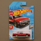 Hot Wheels 2018 Factory Fresh '82 Nissan Skyline [R30] (red/black) (SEE CONDITION)