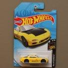 [Casting ERROR] Hot Wheels 2018 Nightburnerz '95 Mazda RX-7 (yellow)