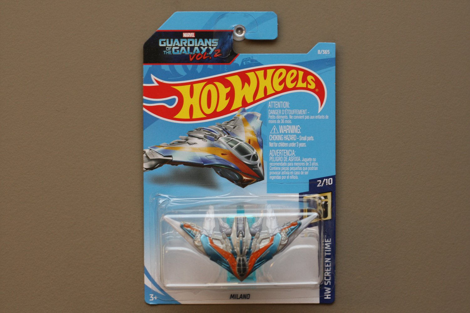 Hot Wheels 2018 HW Screen Time Milano (Guardians Of The Galaxy Vol. 2)