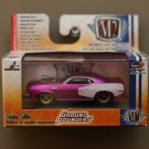 M2 Machines 2016 Ground Pounders 1:64 1971 Plymouth Cuda 440 (pink)