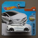 Hot Wheels 2017 Factory Fresh Tesla Model X (white)