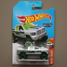 Hot Wheels 2017 HW Hot Trucks Dodge RAM 1500 (ZAMAC silver - Walmart Excl.)