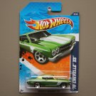 Hot Wheels 2011 Muscle Mania '70 Chevelle SS (green) (SEE CONDITION)