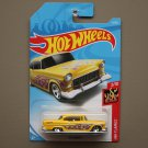 [PAINT ERROR] Hot Wheels 2018 HW Flames '55 Chevy (yellow)