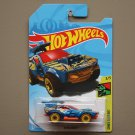 Hot Wheels 2018 Dino Riders Sting Rod II (blue) (Treasure Hunt)