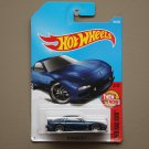 Hot Wheels 2017 Then And Now '95 Mazda RX-7 (blue) (SEE CONDITION)