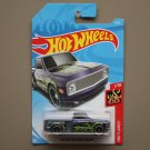Hot Wheels 2018 HW Flames Custom '69 Chevy Pickup (purple)
