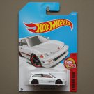 Hot Wheels 2017 Then And Now '90 Honda CIvic EF (white) (SEE CONDITION)