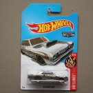 Hot Wheels 2017 HW Flames '68 Dodge Dart (ZAMAC silver - Walmart Excl.) (SEE CONDITION)