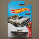 Hot Wheels 2017 HW Flames '68 Dodge Dart (ZAMAC silver - Walmart Excl.)