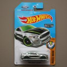Hot Wheels 2017 Muscle Mania Ford Shelby GT350R (ZAMAC silver - Walmart Excl.) (SEE CONDITION)