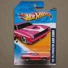 Hot Wheels 2012 Muscle Mania Mopar '70 Plymouth AAR Cuda (pink) (SEE CONDITION)
