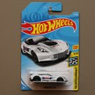 Hot Wheels 2018 HW Speed Graphics Corvette C7R (white) (SEE CONDITION)