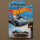 Hot Wheels 2018 Nightburnerz '68 Corvette (Gas Monkey Garage) (blue)