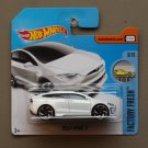 Hot Wheels 2017 Factory Fresh Tesla Model X (white) (SEE CONDITION)