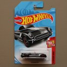 Hot Wheels 2018 Then And Now '55 Corvette (black)