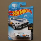 Hot Wheels 2018 Nightburnerz '15 Mazda MX-5 Miata (white) (Mad Mike)