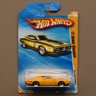 Hot Wheels 2010 New Models '71 Dodge Charger (yellow) (SEE CONDITION)