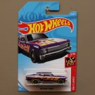 Hot Wheels 2018 HW Flames '68 Chevy Nova (purple)