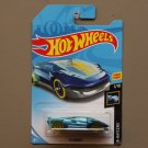 Hot Wheels 2018 X-Raycers El Viento (blue) (Treasure Hunt)