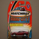 Matchbox 2004 Hero City '05 Chevrolet Corvette C6 (red)